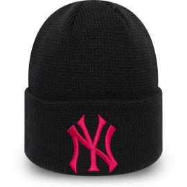New Era MLBWMNS LEAGUE ESSENTIAL CUFF KNIT NEW YORK YANKEES - Dámská klubová zimní čepice
