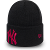 Căciulă club de iarnă damă - New Era MLBWMNS LEAGUE ESSENTIAL CUFF KNIT NEW YORK YANKEES - 2