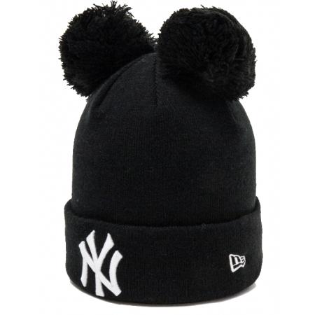 Дамска клубна зимна шапка - New Era MLB WMNS DOUBLE BOBBLE KNIT NEW YORK YANKEES