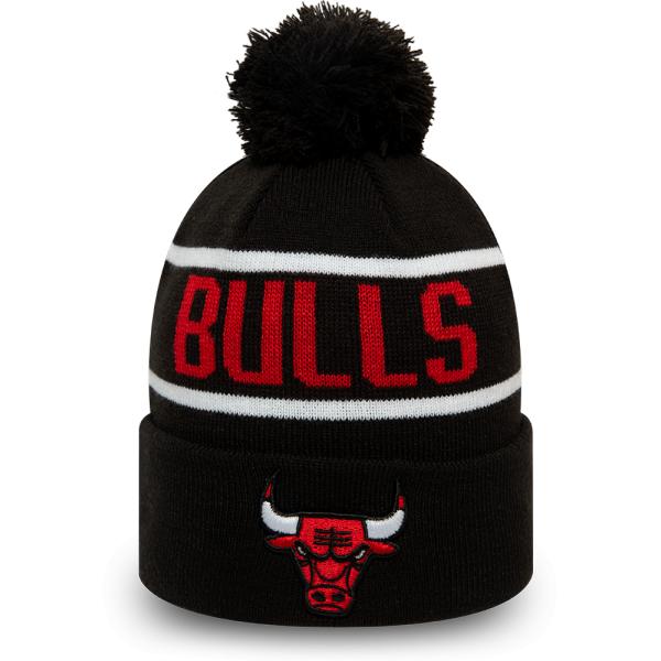 New Era NBA BOBBLE KNIT CHICAGO BULLS - Pánska klubová zimná čiapka