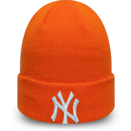 New Era MLB LEAGUE ESSENTIAL CUFF KNIT NEW YORK YANKEES - Универсална зимна шапка