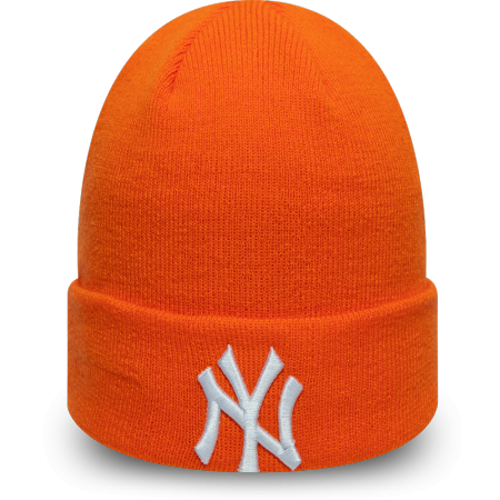 New Era MLB LEAGUE ESSENTIAL CUFF KNIT NEW YORK YANKEES - Unisex winter beanie