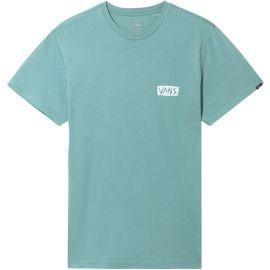 Vans MN SCRATCHED VANS SS OIL BLUE - Pánske tričko