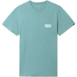 Vans MN SCRATCHED VANS SS OIL BLUE - Pánské tričko