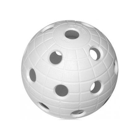 Unihoc MATCHBALL CRATER WHITE - Florbalová loptička