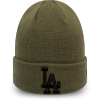 Unisex zimní čepice - New Era MLB LEAGUE ESSENTIAL CUFF KNIT LOS ANGELES DODGERS - 1