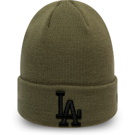 New Era MLB LEAGUE ESSENTIAL CUFF KNIT LOS ANGELES DODGERS - Czapka zimowa unisex