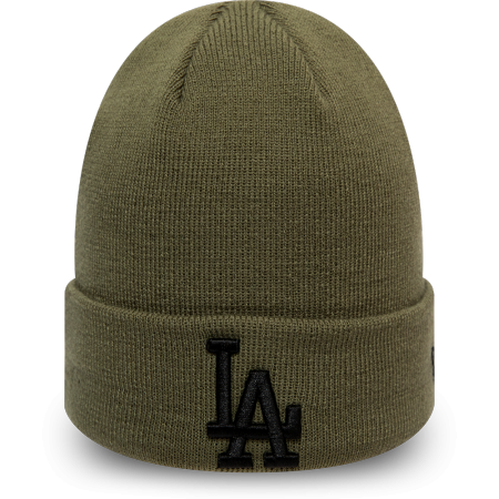 New Era MLB LEAGUE ESSENTIAL CUFF KNIT LOS ANGELES DODGERS - Универсална мъжка шапка