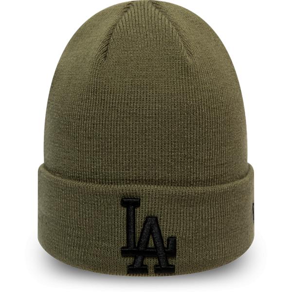 New Era MLB LEAGUE ESSENTIAL CUFF KNIT LOS ANGELES DODGERS - Unisex zimná čiapka