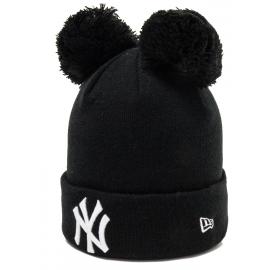 New Era MLB KIDS DOUBLE BOBBLE KNIT NEW YORK YANKEES - Dívčí zimní čepice