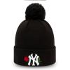 Dievčenská zimná čiapka - New Era MLB TWINE BOBBLE KNIT KIDS NEW YORK YANKEES - 1