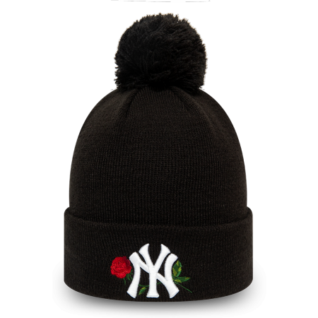 New Era MLB TWINE BOBBLE KNIT KIDS NEW YORK YANKEES - Girls' winter hat