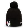 Dievčenská zimná čiapka - New Era MLB TWINE BOBBLE KNIT KIDS NEW YORK YANKEES - 2