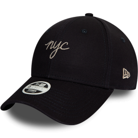 New Era 9FORTY WMNS NYC SCRIPT - Șapcă club damă
