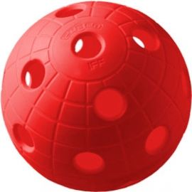 Unihoc BALL CRATER RED - Floorball