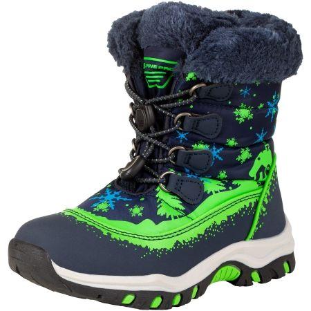 ALPINE PRO TREJO - Kids' winter footwear