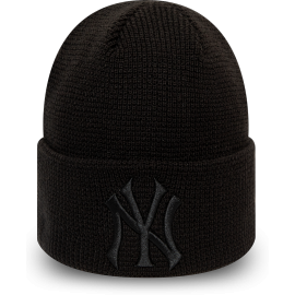 New Era MLB WMNS LEAGUE ESSENTIAL CUFF KNIT NEW YORK YANKEES - Дамска клубна зимна шапка