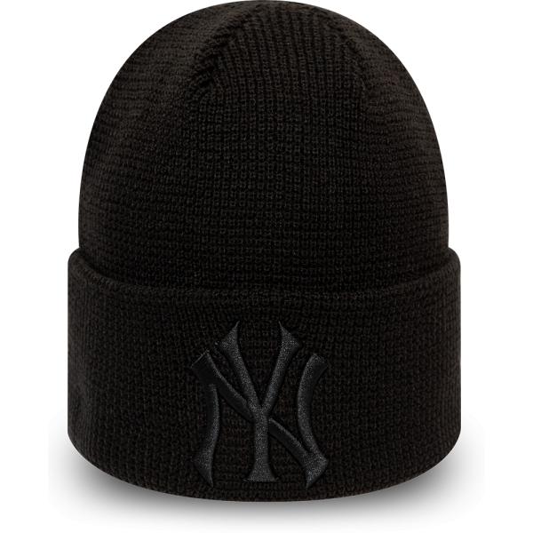 New Era MLB WMNS LEAGUE ESSENTIAL CUFF KNIT NEW YORK YANKEES - Dámska zimná klubová čiapka