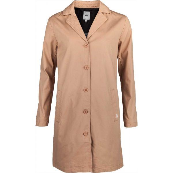 Vans WM CALI NATIVE COAT TUSCANY hnědá XS - Dámský jarní kabát
