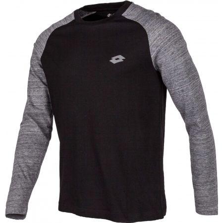 Pánske tričko s dlhým rukávom - Lotto DINAMICO TEE LS RGL MRB CO - 2