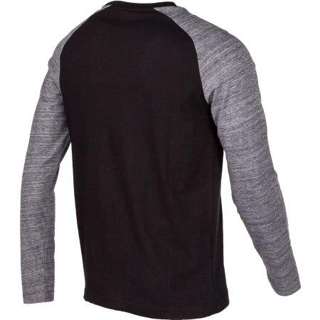Pánske tričko s dlhým rukávom - Lotto DINAMICO TEE LS RGL MRB CO - 3