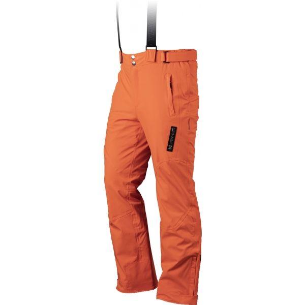 TRIMM RIDER oranžová XXL - Pánske lyžiarske nohavice