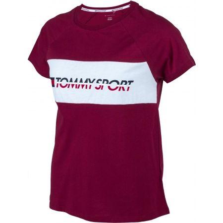Dámske tričko - Tommy Hilfiger BLOCKED TEE LOGO - 2