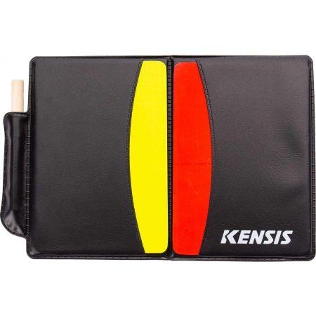 Karty pre rozhodcov - Kensis CARD SET - 3