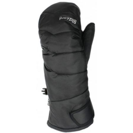 Blizzard VIVA MITTEN SKI GLOVES BLACK - Rukavice