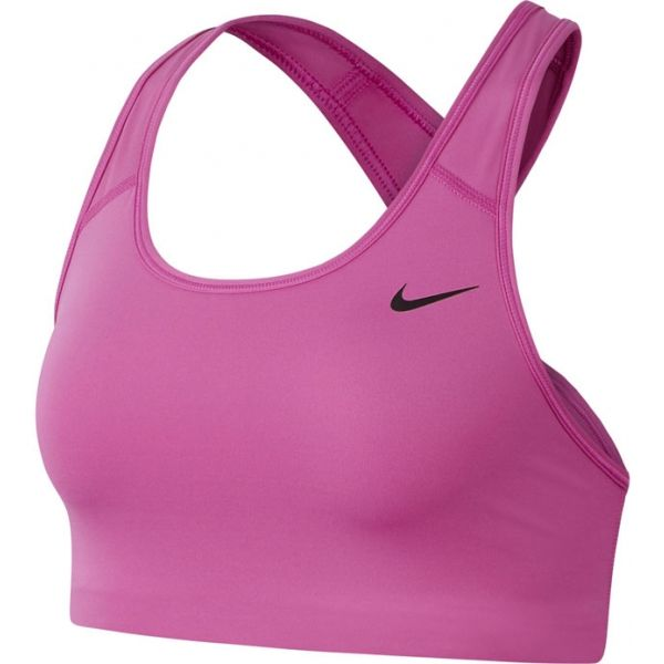 Nike MED NON PAD BRA růžová L - Dámská sportovní podprsenka