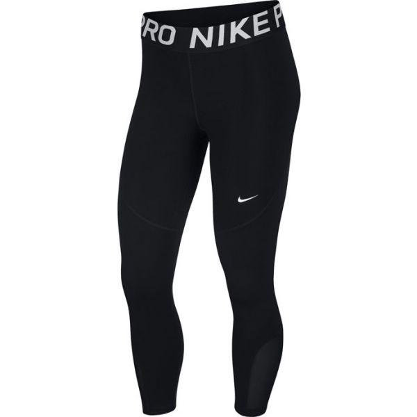 Nike NP CROP W černá M - Dámské legíny