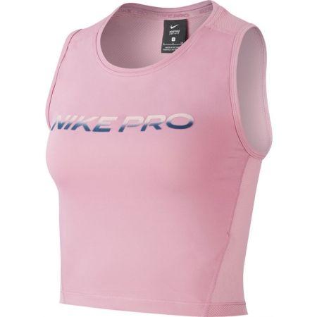 Dámsky športový top - Nike NP CROP TANK VNR EXCL W - 1