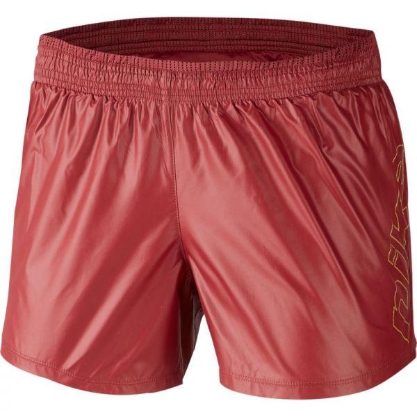 Nike 10K SHORT GLAM GX W červená XS - Dámské běžecké šortky