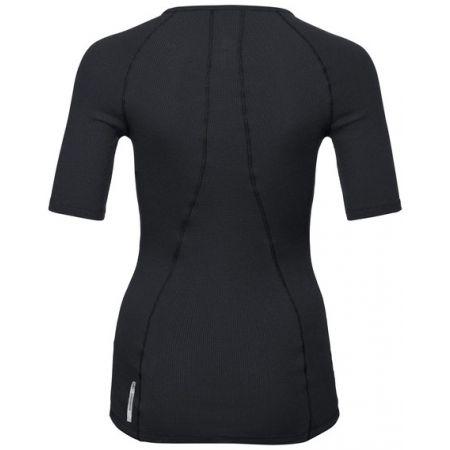 Dámské tričko s 3/4 rukávem - Odlo SHIRT 3/4 SLEEVE V-NECK PURE WOOL - 2