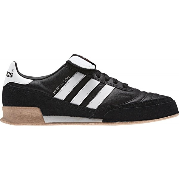 adidas MUNDIAL GOAL LEATHER černá 13 - Pánská sálová obuv