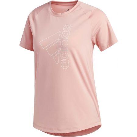 adidas TECH BOS TEE - Dámské sportovní tričko