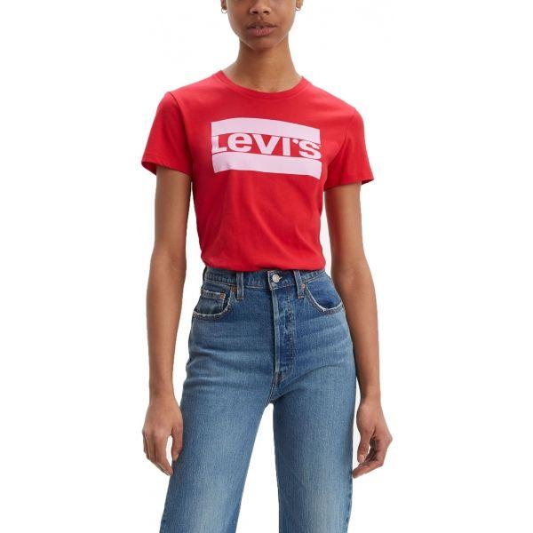 Levi's THE PERFECT TEE piros XS - Női póló