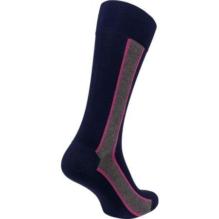 Pánske ponožky - Calvin Klein VERTICAL STRIPE CREW - 2