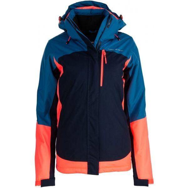 ALPINE PRO OMARA - Dámska lyžiarska bunda