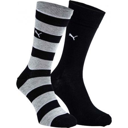 Unisex ponožky - Puma PROMO 2 PACK - 1