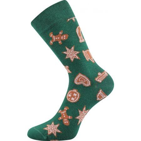 Vánoční ponožky - Boma N03065 S-PATTE - 2