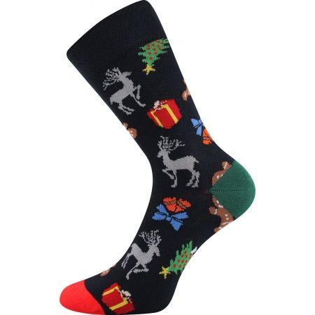 Vánoční ponožky - Boma N03065 S-PATTE - 4