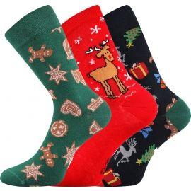 Boma N03065 S-PATTE - Vánoční ponožky