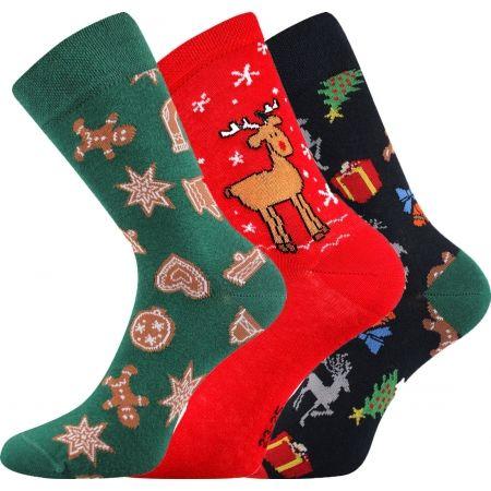 Vánoční ponožky - Boma N03065 S-PATTE - 1