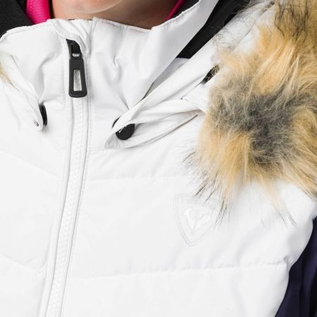 Dievčenská lyžiarska bunda - Rossignol GIRL BB POLYDOWN PEARLY JKT - 5