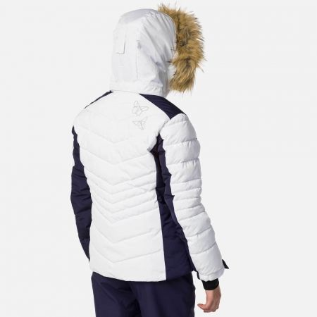 Dievčenská lyžiarska bunda - Rossignol GIRL BB POLYDOWN PEARLY JKT - 4