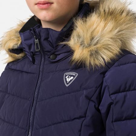 Mädchen Skijacke - Rossignol GIRL BB POLYDOWN PEARLY JKT - 5