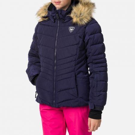 Mädchen Skijacke - Rossignol GIRL BB POLYDOWN PEARLY JKT - 2