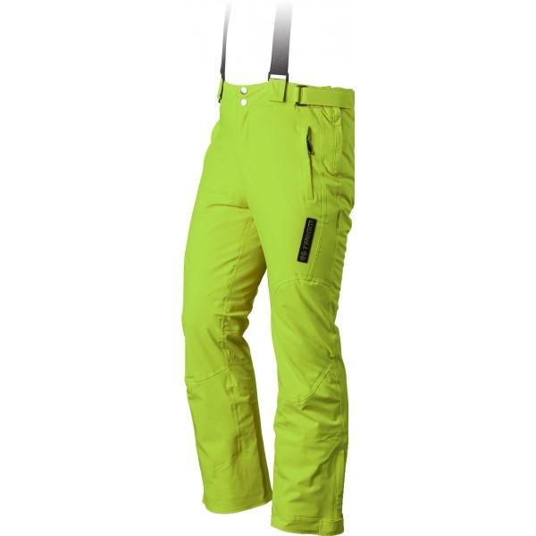 TRIMM RIDER zelená S - Pánske lyžiarske nohavice