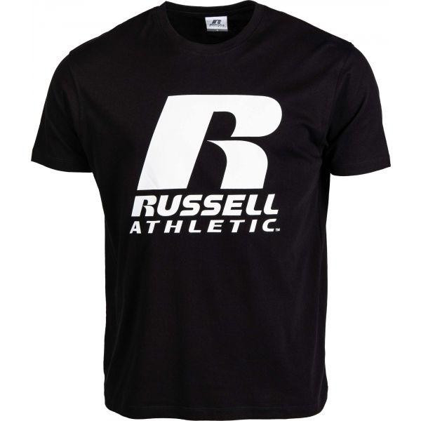 Russell Athletic S/S CREWNECK TEE SHIRT SMU fekete L - Férfi póló